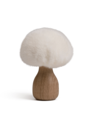 danish-fur-design-boligartikler-svamp-00305-white-oak-13-cm