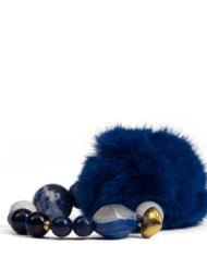 danish-fur-design-smykke-armbånd-00103-blue-19cm