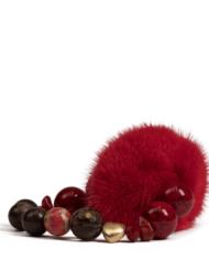 danish-fur-design-smykker-armbånd-00101-red-i-19cm