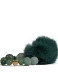 danish-fur-design-smykker-armbånd-00104-green-19cm