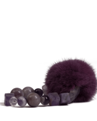danish-fur-design-smykker-armbånd-00108-purple-19cm